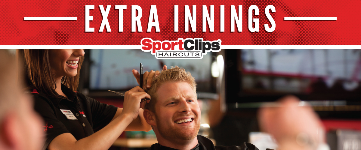 The Sport Clips Haircuts of The Pointe at Barclay Extra Innings Offerings